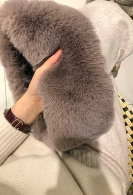 Fake fur warmer (4color)
