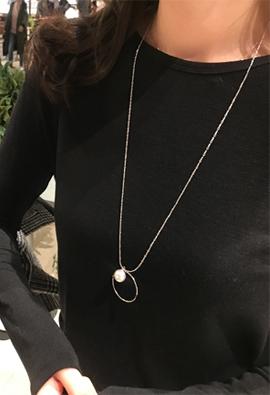 Silver Ring pearl N