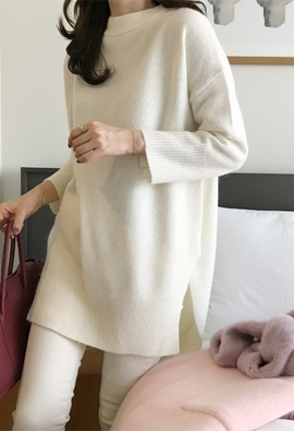 Long angora knit (5color)