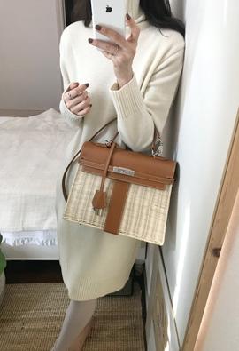 [Cashmere] Tidy knit dress (3color)