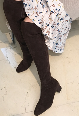 Thigh-high boots (2color)