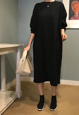 [Brushed] Repeat MTM dress (4color)