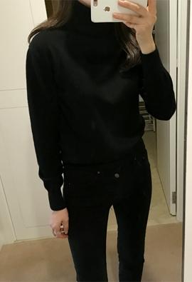 [Cashmere] Less turtleneck (4color)