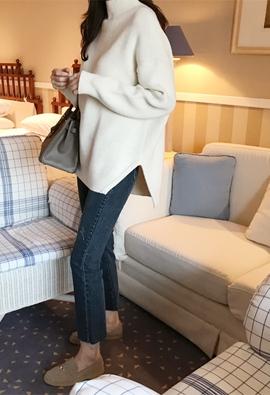 [cashmere]Caret polo knit (3color)
