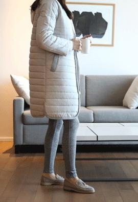 Doubly warm padding (gray)