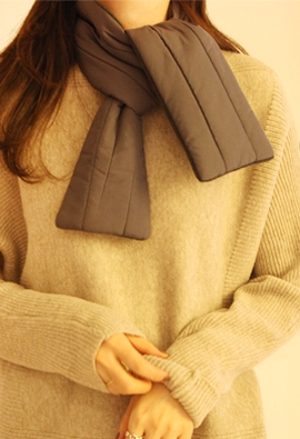 Doubly warm muffler (2color)
