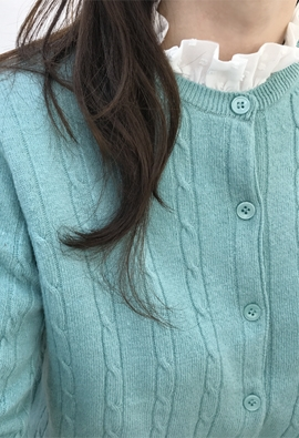 Tweak cardigan (mint)