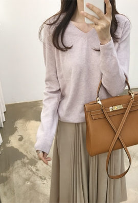 Cipher knit (pink)