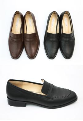 Stitch loafer (2color)