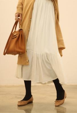 [Band type] Same skirts (4color)