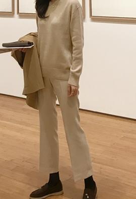 People bootcut slacks (2color)