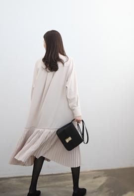 Latte dress (2color)