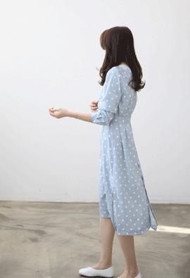 Spring dot dress (2color)