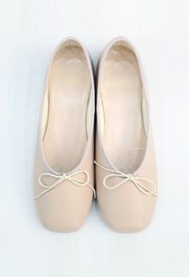 Ballerina flat (pink)