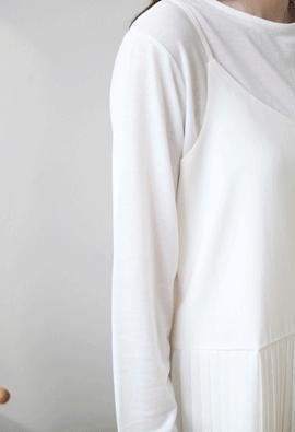 Slip pleats dress (3color)