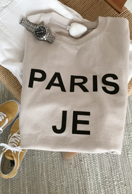 Je t'aime tee (3color)