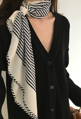 Layer stripe scarf (5color)