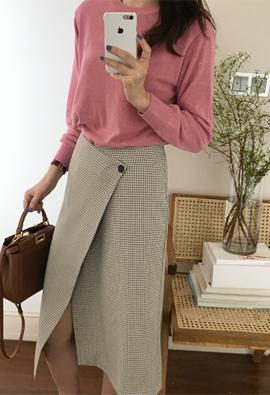 Daisy knit (pink)