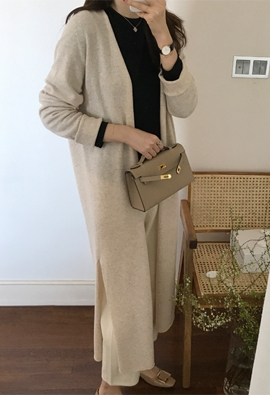 [Wholegarment] [Cache] Ably cardigan (2color)