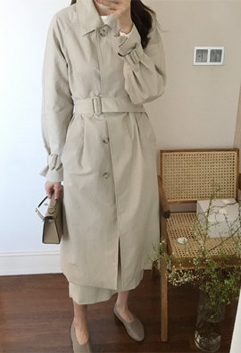 Lowen trench coat (2color)
