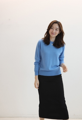 Merry round knit (2color)