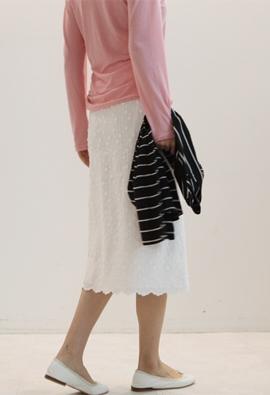 [Back band] Dia drip skirts