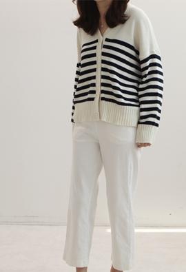 Relish cardigan (stripe)