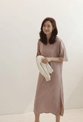Wave dress (pink)