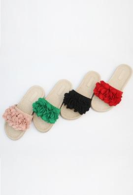 Flutter slipper (4color)