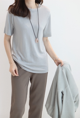 Cecile tee (4color)