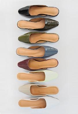 Enamel color slipper (8color)