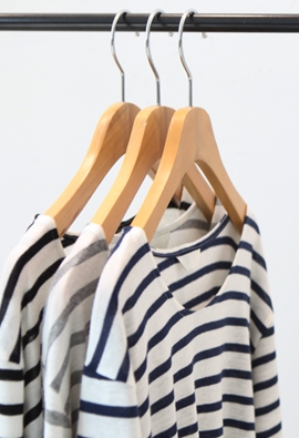 Zeno stripe tee (3color)