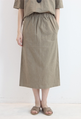 [Band type] Reason skirts (2color)
