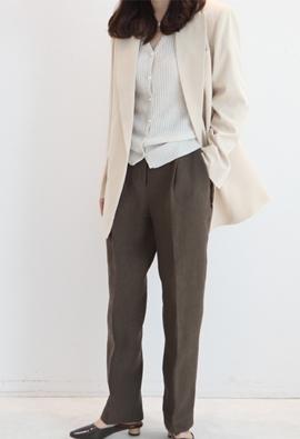 Aion linen pants (4color)