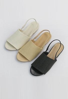 Slingback sandal (3color)