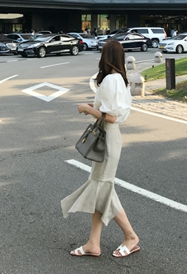 Two-way dressy skirts (3color)
