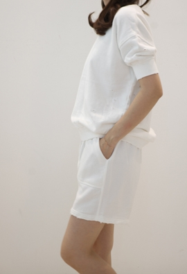 [Band Type] Easy vintage shorts (2color)