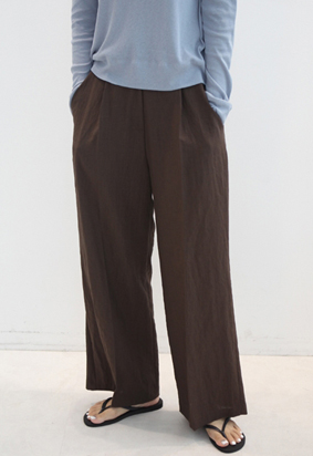 [Back band] Edin slacks (2color)