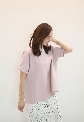 A line tee (pink)