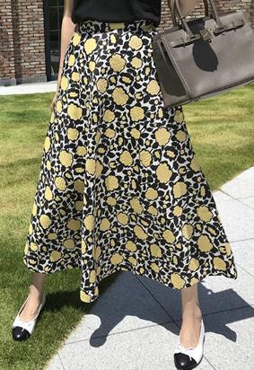 Jaccard flower skirts (3color)