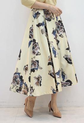 Border full skirts (3color)
