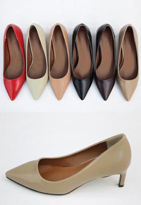 Half Stiletto Heel (6color)