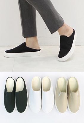 Slip-on mule (3color)