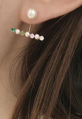 Pearl coloured E
