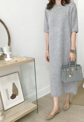 Diel knit dress (2color)