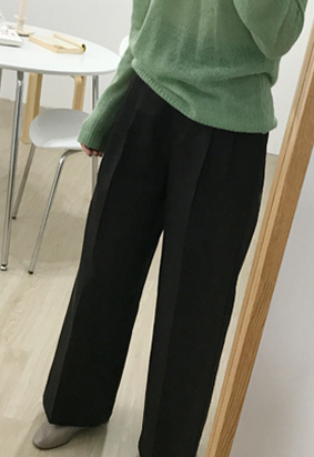 Mighty wide pants (3color)