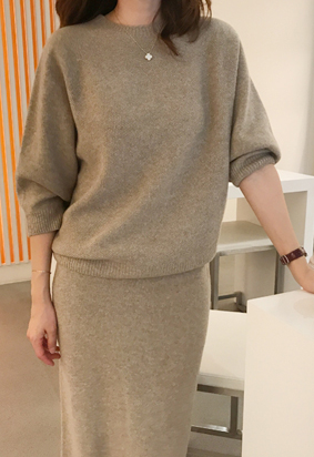 [Cashmere] prima knit (4color)