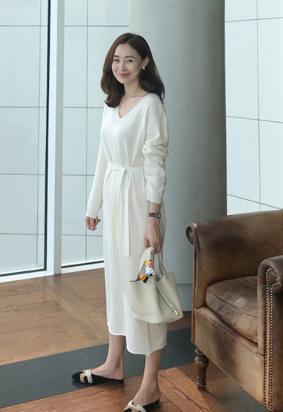[Cashmere] Listen dress (3color)