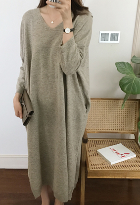 Nuff knit dress (3color)