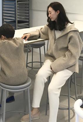 [HandMade] Hood zip up jacket (3color)